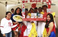 Ecuadorians celebrate World Blood Donor Day