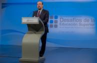 """Dr. Jaime Valls, Secretario General Ejecutivo ANUIES, en su disertación sobre """"La Responsabilidad Social de las Instituciones de Educación Superior"""""""
