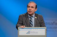 Lcdo. Francisco Guerra, Coord. Nacional de la EMAP en México. En palabras de agradecimiento a TV Educativa.
