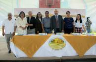 Mesa principal, Ayuntamiento de Jilotepec y representantes de la directiva nacional de la  EMAP