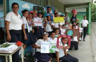 Alumnos de 3er grado de escuela básica nacional bolivariana de moron