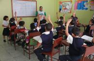 Las 5R llegan a la escuela de maranatha para crear conciencia.