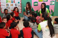 Venezuela, Preescolar, grabando el mentes desde pequeños el cuidar el ambiente.