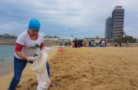 Limpieza de playa