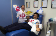 Habitants of Poza Rica participate in blood drive