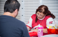 Blood drives in Plaza Las Americas Shopping Center