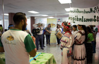 The geap in Mexico celebrates the International Day of the Indigenous Peoples with international and governmental entities