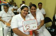 En El Salvador realizan sesiones de sensibilización