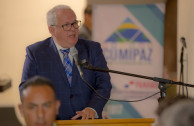 H. E. Ambassador of Panama in Mexico, Dr. Manuel Ricardo Pérez González.