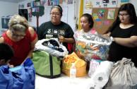 La EMAP abre centro de acopio en apoyo a refugiados en Houston