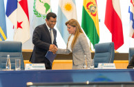 Gabriela Lara and Emilio Sempris