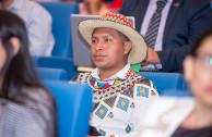 Representantes de pueblos originarios de Panamá, presentes en la CUMIPAZ 2017