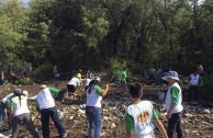 Environmental work in Barra Salada Beach