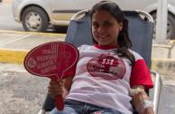 activista salvando vidas