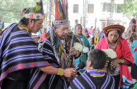 Indigenous peoples of Meta celebrating