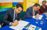 The UNAD in Colombia signs an agreement with the GEAP