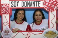 Activistas de El Salvador.
