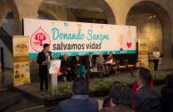 En México se busca establecer una cultura de donación voluntaria, altruista y habitual de sangre segura