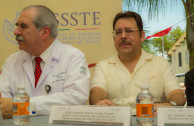 Blood drive and recognitions in ISSSTE, Mexico