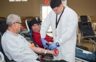 Donante voluntario de sangre