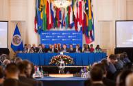 La EMAP en el inicio de sesiones del 48o. periodo de sesiones de la Asamblea General de la OEA