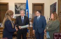 La EMAP hace entrega de la Carta Ambiental Interamericana en la OEA