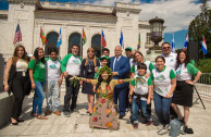The GEAP delivers the Inter-American Environmental Charter at the OAS