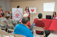 Puerto Rico | Blood donation and PEC - LIFE workshops