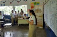 Charla sobre valores y derechos humanos en alumnos del tercer ciclo