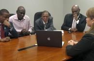 Visita oficial de la Emap a Haití