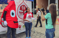 This is how Guatemala celebrated World Blood Donor Day.