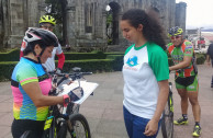 cyclists supported the Proclamation