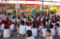 Mexico: 5,197 students receive talks on the 5 environmental values