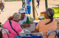 Volunteer activist Puerto Rico