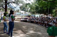 Honduras, creates awareness in youths to care for the environment.