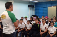 Alumnos costarricenses sensibilizados en la  protección a la Madre Tierra