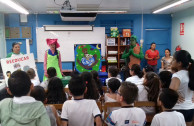 Costa Rican students aware of the protection of Mother Earth