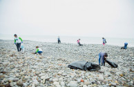 Lima joins environmental awareness and collects 1350 kilos of garbage on the beaches