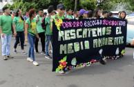 Desfile estudiantil.