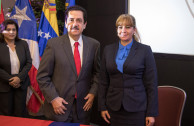 Lcda. Gabriela Lara y Dip. Tony Raful Tejada
