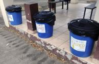 Tanques para reciclaje.