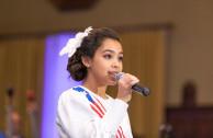 Presentadora de la Gala