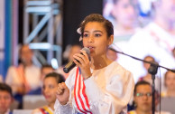 Ruth Daniela González, Puerto Rican activist, was the presenter at the 2018 CUMIPAZ inaugural Gala