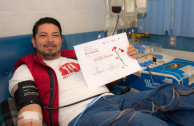 Altruistic donor received a certificate from the Health Entities in San Luis Potosí