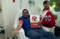 Regular donor giving life to World Blood Donor Day