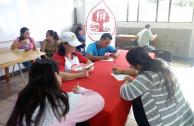 Trabajando en las diferentes áreas de la donación de Sangre