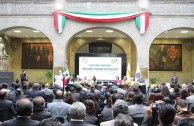 Closing of the University Forums in the Senate of Mexico