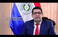 2016 07 22   Entrevista Presidente de la Cámara de Diputados del Paraguay Hugo Velazquez