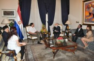 Paraguay Encounter with the President
