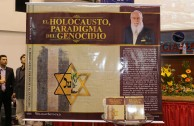 "Presentation of the book ""Holocaust: Paradigm of Genocide"" at the Gabriel René Moreno University"